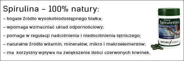 Spirulina - 100 procent natura