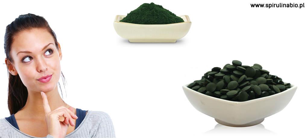 Spirulina tabletki czy w proszku spirulina for Spirulina w tabletkach